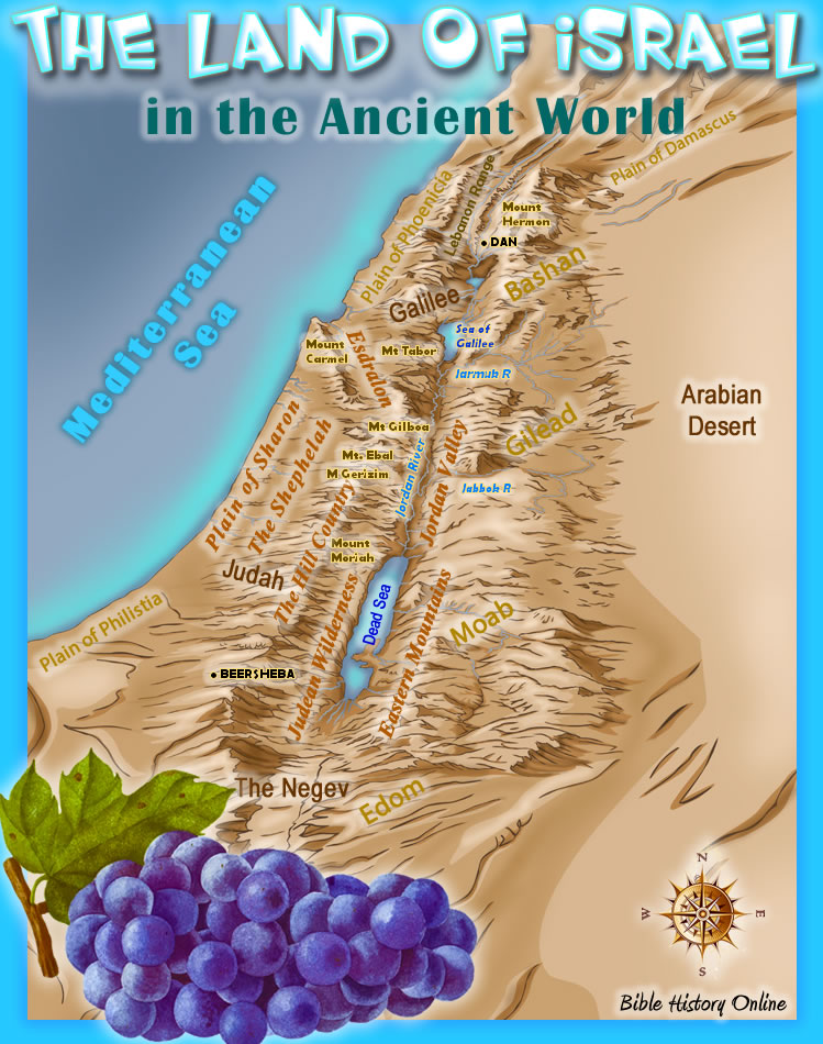 The Land of Israel in the Ancient World